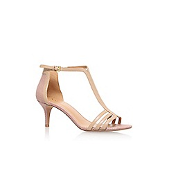 Nine West - Beige 'Go Home' high heel sandals