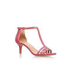 Nine West - Red 'Go Home' high heel sandals