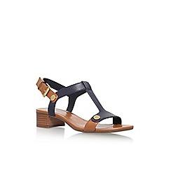 Anne Klein - Blue 'Ebber' low heel sandals