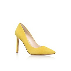 Nine West - Yellow 'Tatiana15' high heel court shoe