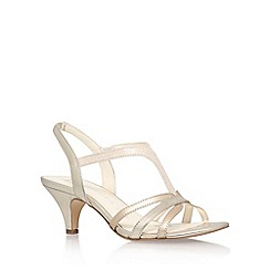 Anne Klein - Gold 'McKay6' high heel sandals