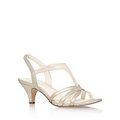 Anne Klein - Gold 'McKay6' high heel sandals