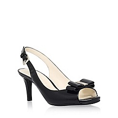 Anne Klein - Black 'Stephania' mid heel sandal