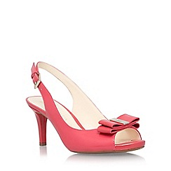 Anne Klein - Red 'Stephania' mid heel sandal