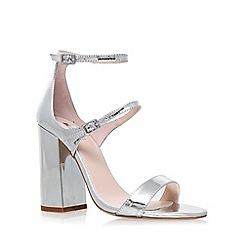 Carvela - Silver 'Genetic' high heel sandal