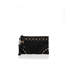 Miss KG - Black 'Helga' Clutch bag