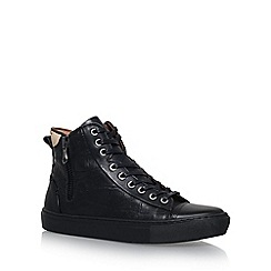 KG Kurt Geiger - Black 'Procell' high top sneaker