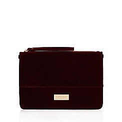 Carvela - Red 'Devon' Clutch Bag