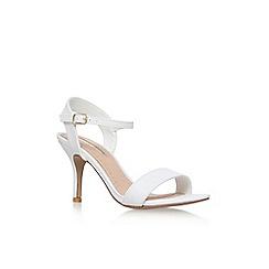 Miss KG - White 'Immi' high heel sandal
