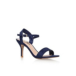 Miss KG - Blue 'Immi' mid heel sandal