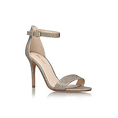 Nine West - Gold 'mana2' high heel sandal
