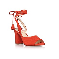 Nine West - Red 'Bellermo' high heel sandal