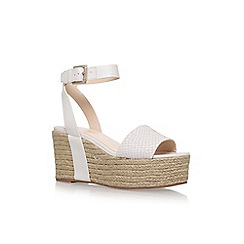 Nine West - Brown 'Edoile' high heel wedge sandal