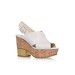 Nine West - Brown 'Imena' high heel sandal