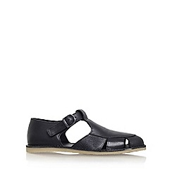 KG Kurt Geiger - Black 'Dwight' flat sandals