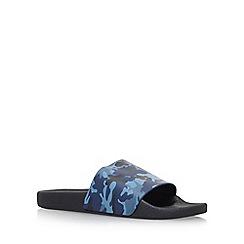 KG Kurt Geiger - Blue 'Yakima' flat sandals