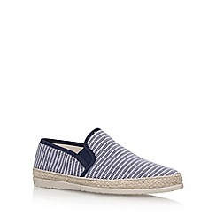 KG Kurt Geiger - Blue 'Lara' slip on sneakers