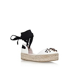 Carvela - White 'Kathy' flat sandals