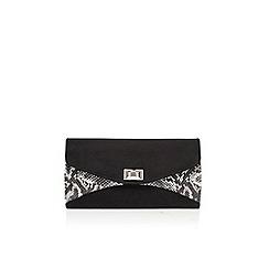 Carvela - Black 'Dena' envelope clutch bag