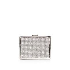 Carvela - Silver 'Destiny' clutch bag