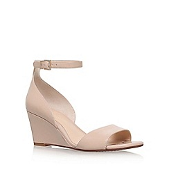 Vince Camuto - Natural 'Cherin' high heel wedge sandals