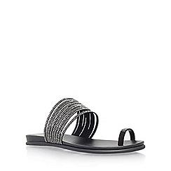 Vince Camuto - Black 'Eriantha' flat slip on sandal