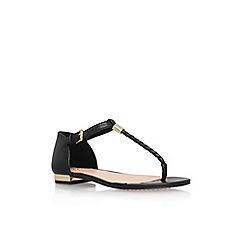 Vince Camuto - Black 'Halana' flat sandals
