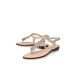 Vince Camuto - Gold 'Jachai' flat sandals