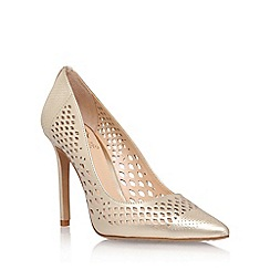 Vince Camuto - Gold 'Nico' high heel court shoes