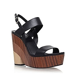 Vince Camuto - Black 'Olana' high wedge sandal