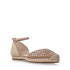 Vince Camuto - Brown 'Sandina' low heel sandals