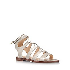 Vince Camuto - Gold 'Tany' low heel sandal