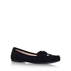Carvela - Black 'Morris' flat slip on loafers