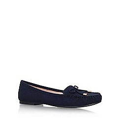 Carvela - Blue 'Morris' flat slip on loafers