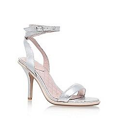 KG Kurt Geiger - Silver 'Ibiza' high heel sandal