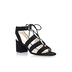 Nine West - Black 'Gazania' high heel sandal