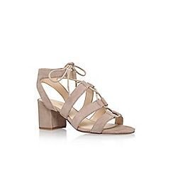 Nine West - Beige 'Gazania' high heel sandals