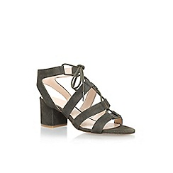 Nine West - Green 'Gazania' high heel sandals
