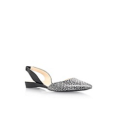 Nine West - Black 'Werein' low heel sandals