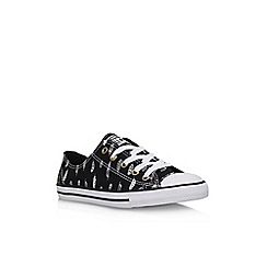 Converse - Black 'Ct Dainty Fthr Lw' low lace up sneaker