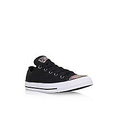 Converse - Black 'Ct Oil Slick Toe Low' lace up sneaker