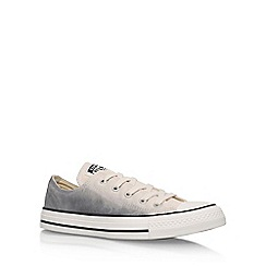 Converse - Grey 'Ct Sunset Low' Flat Lace Up Sneakers