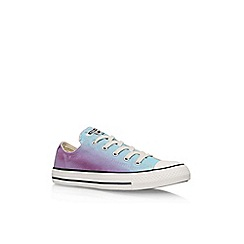 Converse - Purple 'Ct Sunset Low' Flat Lace Up Sneakers