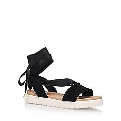 Miss KG - Black 'Dakota' Low Heel Sandal