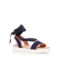 Miss KG - Blue 'Dakota' flat sandals