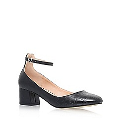 Miss KG - Black 'Amber' high heel court shoes