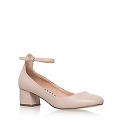 Miss KG - Natural 'Amber' high heel court shoes