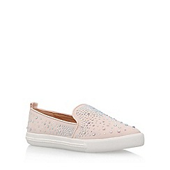 Miss KG - Natural 'Lydia' flat slip on sneakers
