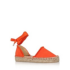 Miss KG - Orange 'Dizzy' flat sandals