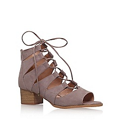 Miss KG - Brown 'Darah' high heel sandals